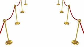 Tapete vermelho ilustração royalty free