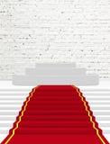 Tapete vermelho Imagem de Stock