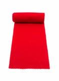 Tapete vermelho de rolamento Imagem de Stock