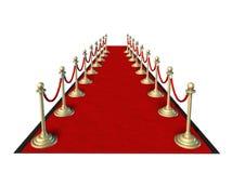 Tapete vermelho Hollywood Imagem de Stock Royalty Free