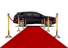 Tapete vermelho SUV Foto de Stock