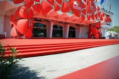 Tapete vermelho, 70th festival de cinema de Veneza Foto de Stock Royalty Free