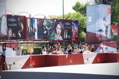 Tapete vermelho, 70th festival de cinema de Veneza Imagem de Stock Royalty Free