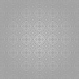 Tapeten-Batik-Strudel-Silber traditionell Lizenzfreies Stockbild