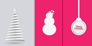 Tapetenkonzepthintergrund der frohen Weihnachten lizenzfreie abbildung
