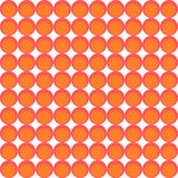 Tapetenmuster gemacht von den Kreisen lizenzfreie abbildung