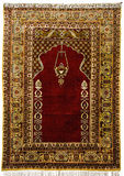 tapetes antigos do 14-19o século Imagens de Stock