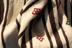 Tapetes antigos feitos a mão bonitos, decorativos Foto de Stock Royalty Free