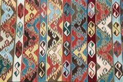 Tapetes antigos feitos a mão bonitos, decorativos Imagens de Stock Royalty Free