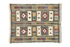 Tapetes antigos feitos a mão bonitos, decorativos Imagem de Stock Royalty Free