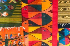 Tapetes coloridos Imagem de Stock