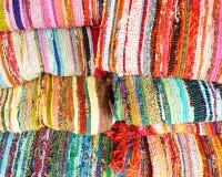 Tapetes coloridos tradicionais Imagens de Stock Royalty Free