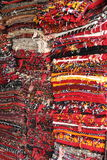 Tapetes dobrados Fotos de Stock Royalty Free