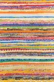 Tapetes feitos a mão coloridos imagens de stock