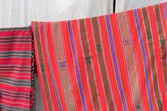 Tapetes feitos a mão da juta, artesanatos indianos justos em Kolkata Foto de Stock Royalty Free