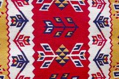Tapetes feitos a mão orientais bonitos do vintage colorido Imagens de Stock