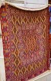 Tapetes feitos a mão orientais bonitos do vintage colorido Fotografia de Stock Royalty Free