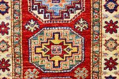 Tapetes feitos a mão orientais bonitos do vintage colorido Fotografia de Stock