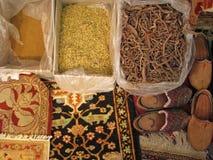 Tapetes orientais - factura tradicional de Fotografia de Stock Royalty Free