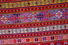 Tapetes persas antigos orientais bonitos Imagens de Stock