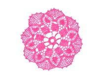 Tapetito Crocheted imagen de archivo libre de regalías