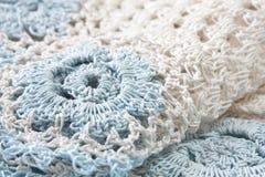 Tapetito Crocheted fotografía de archivo libre de regalías