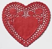 Tapetito del corazón fotografía de archivo libre de regalías