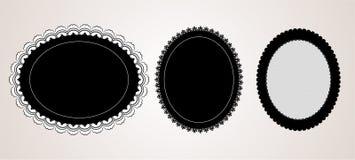 Tapetito elegante negro Fotografía de archivo
