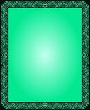 Tapetmörker - grön abstrakt Batik Indonesien Arkivfoto