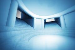 Tapetowa scena duchowy kościelny wewnętrzny widok Fotografia Royalty Free