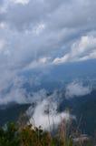 Tapetowe Piękne chmury i niebo Zdjęcia Royalty Free