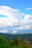 Tapetowe Piękne chmury i niebo Fotografia Royalty Free