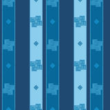 Tapetowi bezszwowi wzory z abstrakty malującymi kwadratami Ilustracji