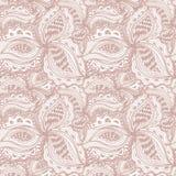 Tapetowy bezszwowy wzór z abstrakcjonistycznym kwiecistym elementem dla deco Zdjęcia Royalty Free