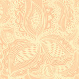 Tapetowy bezszwowy wzór z abstrakcjonistycznym kwiecistym elementem dla deco royalty ilustracja