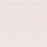 Tapetowy bezszwowy wzór z czerwonym sercem - wektorowa ilustracja Zdjęcie Royalty Free