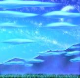 Tapetowy blask księżyca Obrazy Stock