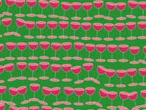 tapetowy wino Zdjęcie Royalty Free