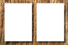 tapetuje drewno Zdjęcie Stock
