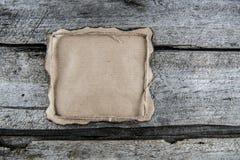 Tapetuje na drewnie z arkaną, palić krawędzie zdjęcia royalty free