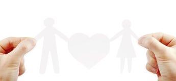 Tapezieren Sie Familie Stockbilder