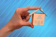 Tapezieren Sie Haus Stockfotografie