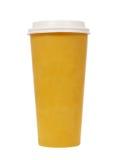 Tapezieren Sie Kaffeetasse Lizenzfreie Stockfotografie