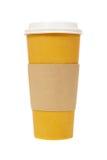 Tapezieren Sie Kaffeetasse Lizenzfreies Stockbild