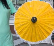 Tapezieren Sie Regenschirm Lizenzfreie Stockfotos
