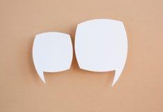 Tapezieren Sie Spracheluftblasen Stockfoto