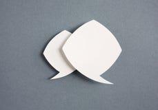 Tapezieren Sie Spracheluftblasen Lizenzfreies Stockfoto