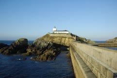 Tapia de Casariego Lighthouse Lizenzfreies Stockfoto