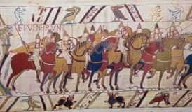 Tapicería de Bayeux Imagen de archivo libre de regalías