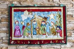 Tapicería de la Navidad Fotografía de archivo